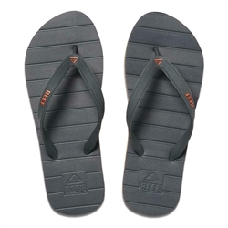 Reef Switchfoot Flip Flops - Grey & Orange