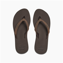 Reef Cush Luna Flip Flops - Brown