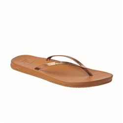 Reef Cushion Bounce Slim Flip Flops - Copper