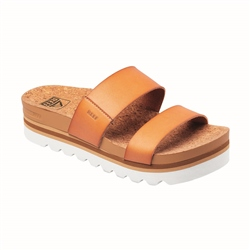 Reef Cushion Bounce Vista Hi Flip Flops - Natural