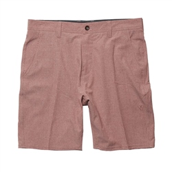 Vissla Canyon Hybrid Walkshorts - Red