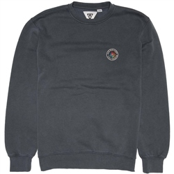 Vissla Solid Sets Crew Sweatshirt - Dark Grey