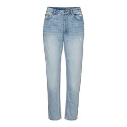 Vero Moda Joana Mom Ankle Jeans - Light Blue Denim