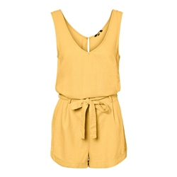 Vero Moda Helen Milo Playsuit - Banana Cream