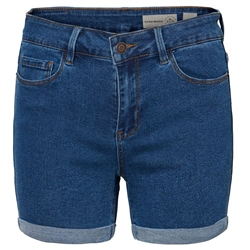 Vero Moda Hot Seven Denim Short - Medium Blue Denim