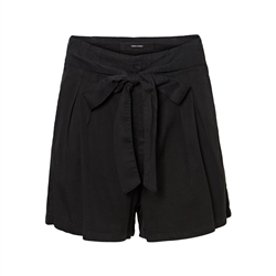 Vero Moda Mia Loose Summer Shorts - Black