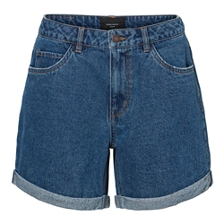 Vero Moda Nineteen Loose Shorts - Medium Blue Denim