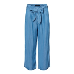 Vero Moda Laura Loose Trousers - Light Blue Denim