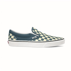 Vans Classic Check Slip-On - Blue & White Checkerboard
