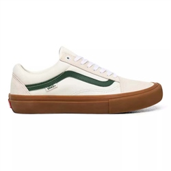 Vans Old Skool Pro Shoe - Marshmallow & Alpine