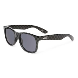 Vans Spicoli 4 Shades Sunglasses - Black & Charcoal Checkerboard