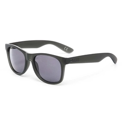 Vans Spicoli 4 Shades Sunglasses - Black Frosted Translucent