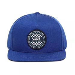 Vans Checker Snapback Boys Cap - Sodalite Blue