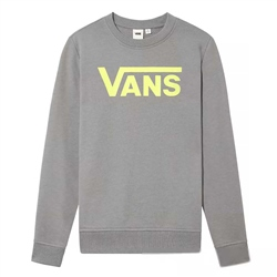 Vans Classic V Crew Sweatshirt - Grey Heather