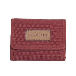 Rip Curl Saltwater Eco Wallet - Rust