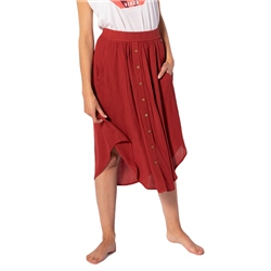 Rip Curl Oasis Muse Skirt - Rosewood