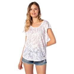 Rip Curl Viamala Flower Top - White