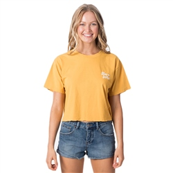 Rip Curl Keep On Surfin T-Shirt - Yellow