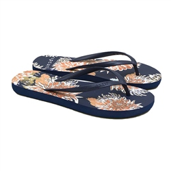 Rip Curl Sunsetters Flip Flops - Navy