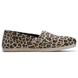 Toms Alpargata Slip On - Birch Leopard Print