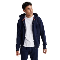Superdry Collective Zip Hoody - Rich Navy