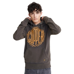 Superdry Copper Label Hoody - Carbon Black