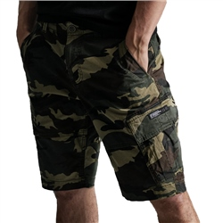 Superdry Core Cargo Walkshorts - Camo