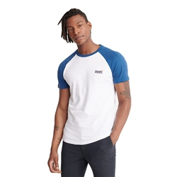 Superdry OL Classic Baseball T-Shirt - Optic