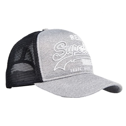 Superdry Premium Goods Trucker - Grey Marl