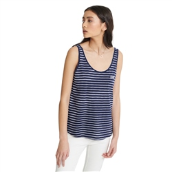 Superdry OL Essential Vest - Navy Stripe