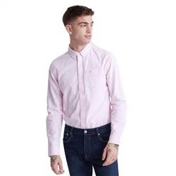 Superdry Classic University Oxford Shirt - City Pink