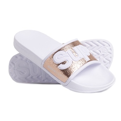 Superdry Eva 2.0 Pool Slide Flip flop - Rose Gold