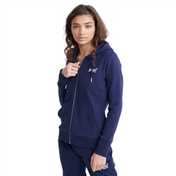 Superdry OL Zipped Hoody - Atlantic Navy