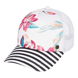 Roxy Beautiful Morning Trucker Cap - Snow White