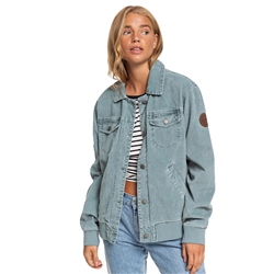 Roxy Desert Sands Corduroy Jacket - North Atlantic