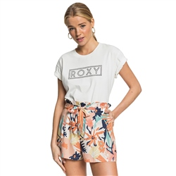 Roxy The South Side Print Walkshorts - Peach Blush