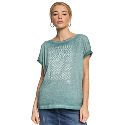 Roxy Summertime Happiness T-Shirt - North Atlantic