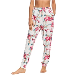 Roxy Easy Peasy Trousers - Bright White