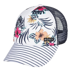 Roxy Honey Coconut Trucker Cap - Bright White