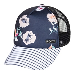 Roxy Honey Coconut Trucker Cap - Mood Indigo