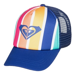 Roxy Sweet Emotions Trucker Cap - Monaco Blue
