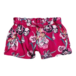 Roxy Rainbow Shower Shorts - Cerise Pansies