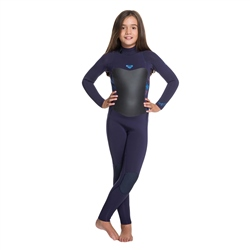 Roxy Syncro 3/2mm Wetsuit - Blue & Coral (2020)