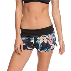 Roxy Endless Summer Print Boardshorts - Anthracite Tropicoco