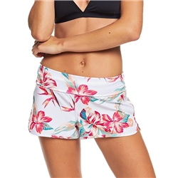 Roxy Endless Summer Print Boardshorts - Bright White
