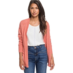 Roxy Valley Shades Cardigan - Terra Cotta