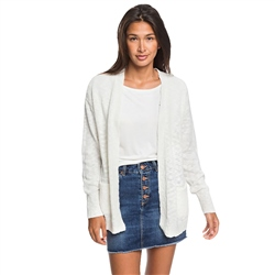 Roxy Valley Shades Cardigan - White