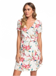 Roxy Monument View Dress - Snow White
