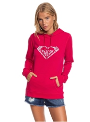 Roxy Shine Your Light Hoody - Cerise