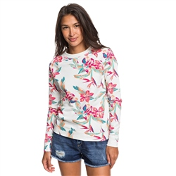 Roxy Night Is Young Sweatshirt - Snow White